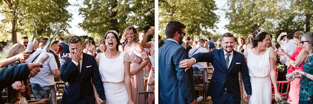 Fotografia boda Monasterio del Espino